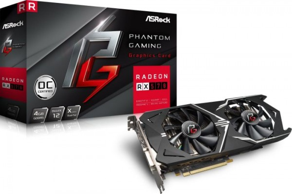 VGA Asrock Radeon RX 570 4GB OC Phantom Gaming X