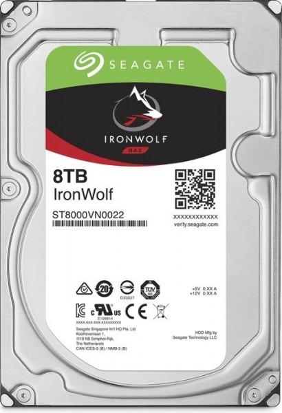 Seagate IronWolf NAS HDD 8TB, SATA 6Gb/s (ST8000VN0022)