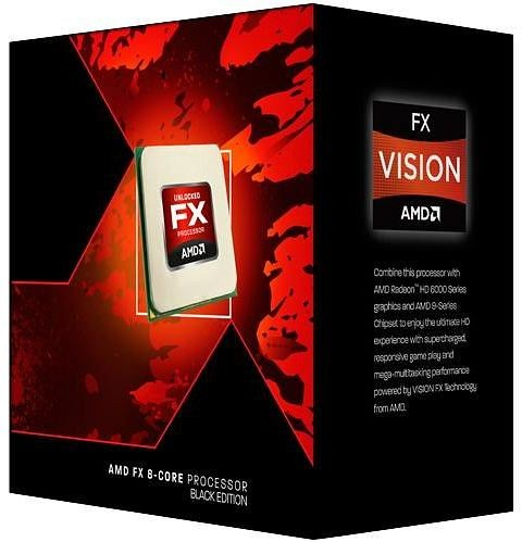 AMD FX-8350 Box AM3+ (4,00GHz) 125W