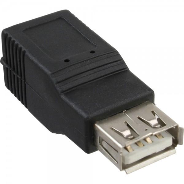 InLine® USB 2.0 Adapter, Buchse A auf Buchse B
