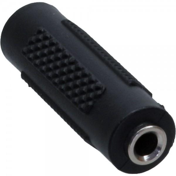InLine® Audio Adapter, 3,5mm Klinke Buchse / Buchse, Stereo