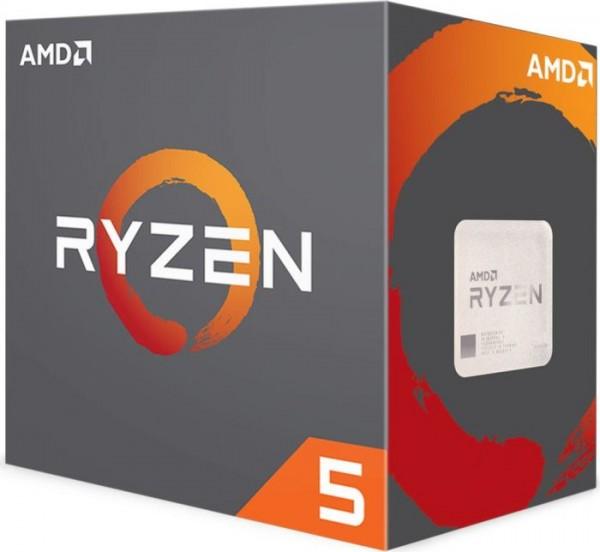 AMD Ryzen 5 1600X Box AM4 (3,600GHz) YD160XBCAEWOF, ohne Kühler