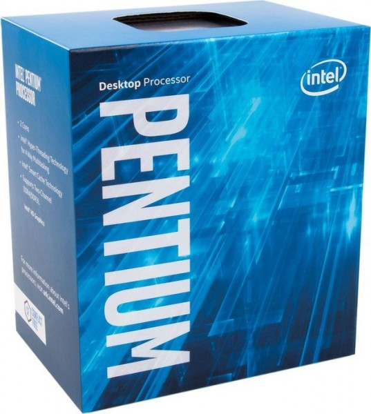 Intel Box Pentium Dual-Core Processor G4600 3,6 Ghz 3M Kaby Lake