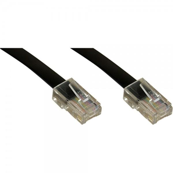 InLine® ISDN Anschlußkabel, RJ45 Stecker / Stecker (8P4C), 10m