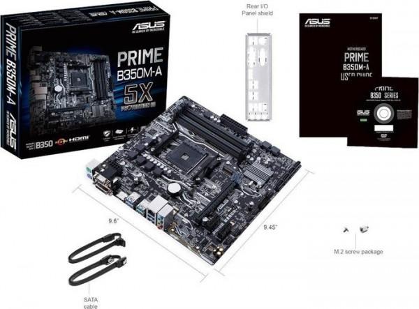 ASUS PRIME B350M-A (D)