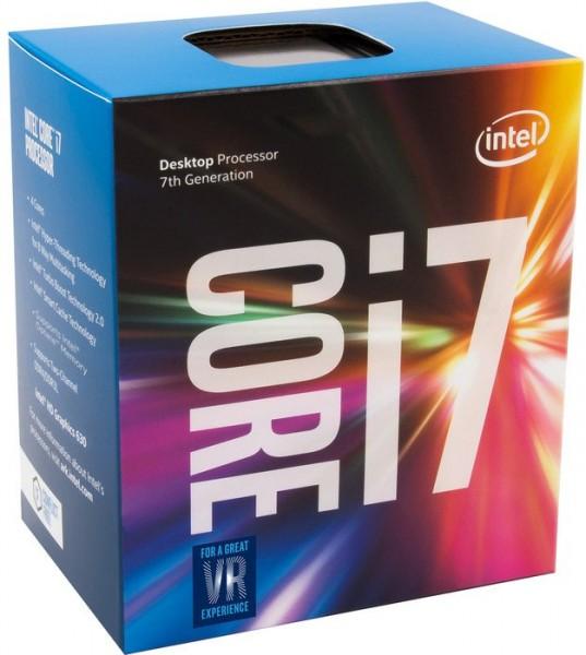 Intel Box Core i7 Processor i7-7700 3,60Ghz 8M Kaby Lake