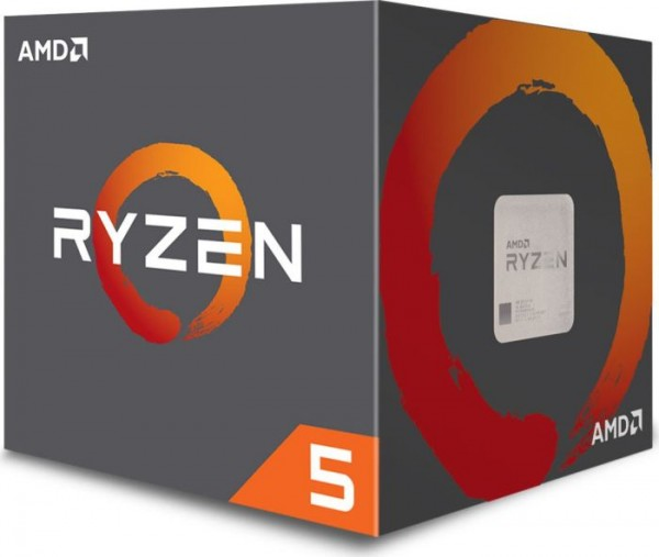 AMD Ryzen 5 2600 Box AM4 (3,900GHz) YD2600BBAFBOX with Wraith Stealth cooler
