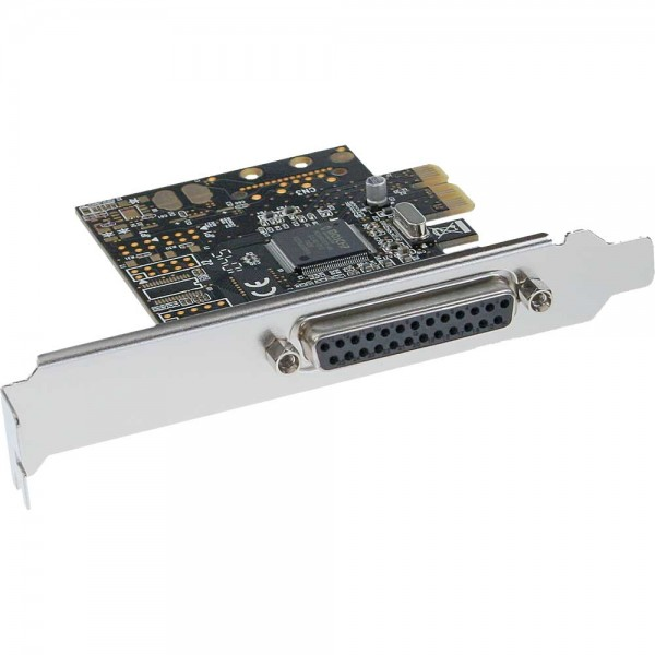 InLine® Schnittstellenkarte, 1x parallel 25-pol, PCIe (PCI-Express)