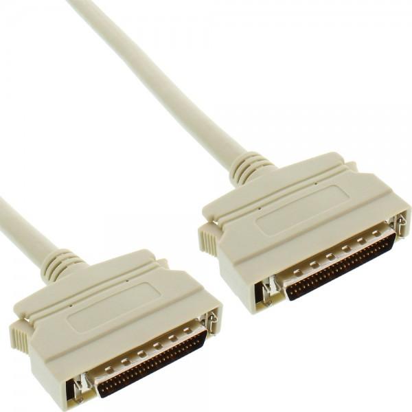InLine® SCSI II Kabel, 50pol mini Sub D Stecker / Stecker, 2m