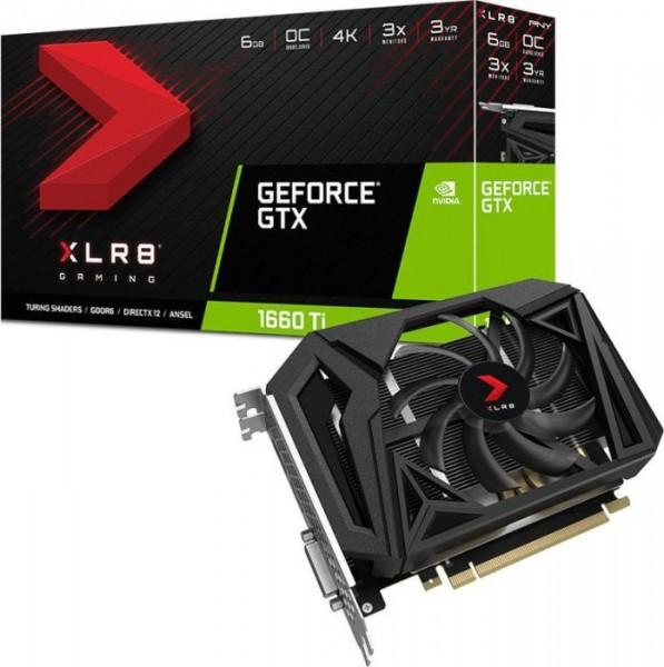 VGA PNY GeForce® GTX 1660 TI 6GB XLR8 Gaming OC Edition
