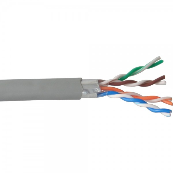 InLine® Verlegekabel, F/UTP CU, Cat.5e, AWG24, PVC, 100m