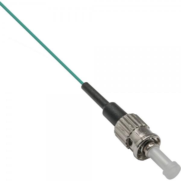 InLine® LWL Pigtail, ST 50/125µm, OM3, 2m