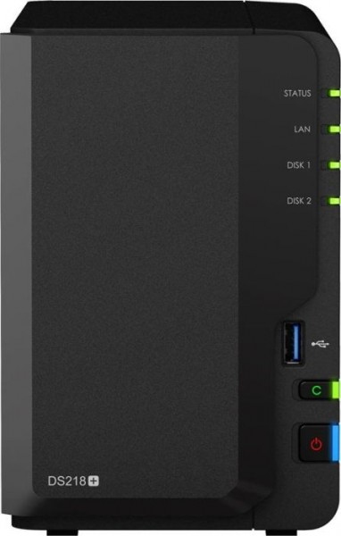 Synology DiskStation DS218+, 2GB RAM, 1x Gb LAN