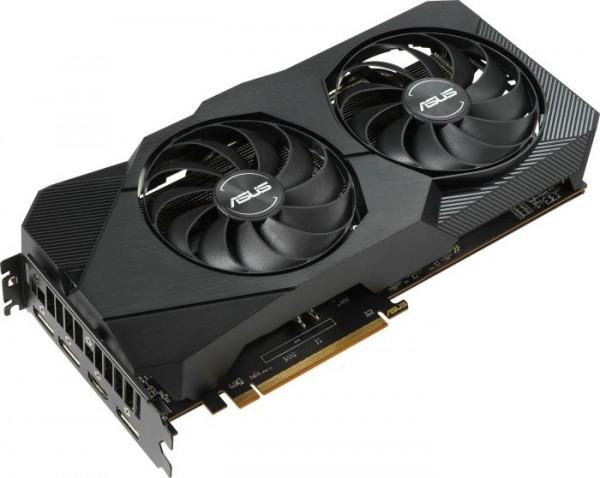 ASUS Dual Radeon RX 5700 OC Evo, DUAL-RX5700-O8G-EVO, 8GB GDDR6, HDMI, 3x DP (90YV0DC1-M0NA00)