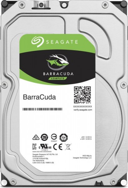 "Seagate BarraCuda Compute 2TB, 3.5"", 64MB, SATA 6Gb/s (ST2000DM006)"