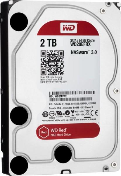 """Western Digital WD Red 2TB, 3.5"""", SATA 6Gb/s (WD20EFAX)"""