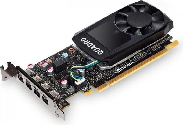 PNY Quadro P620 for DVI, 2GB GDDR5, 4x mDP (VCQP620DVI-PB)