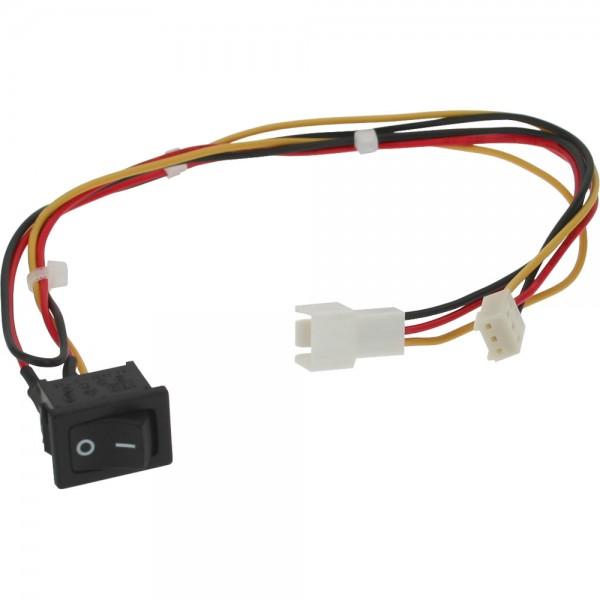 InLine® Schalter, zum Ein und Ausschalten von Gehäuselüfter