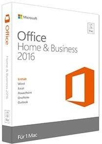 Microsoft: Office 2016 Home and Student, ESD (deutsch) (MAC) (W6F-00627)