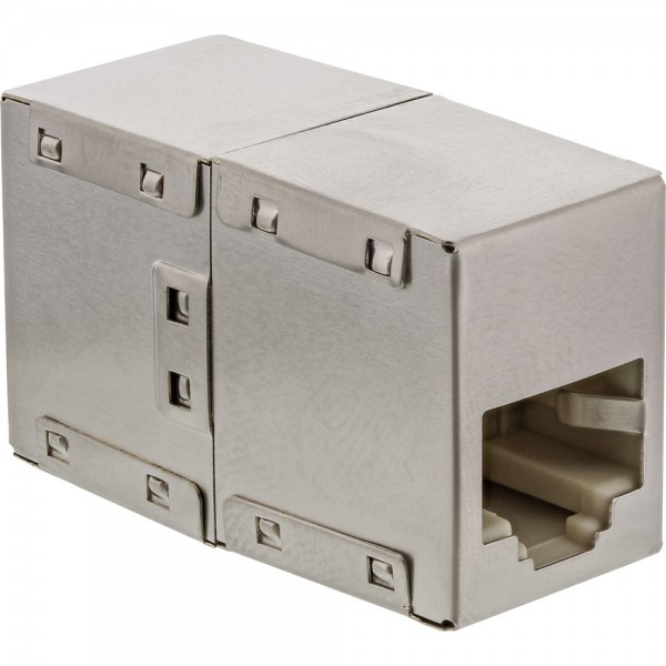 InLine® Patchkabelkupplung Cat.5e, 2x RJ45 Buchse, geschirmt
