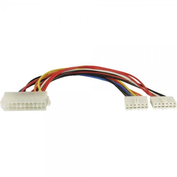 InLine® Stromadapter intern, 20pol ATX-NT zu P8/P9 AT-Mainboard, 0,2m