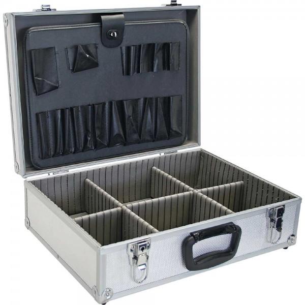 InLine® Werkzeugkoffer, Aluminium silber, unbestückt, abschließbar