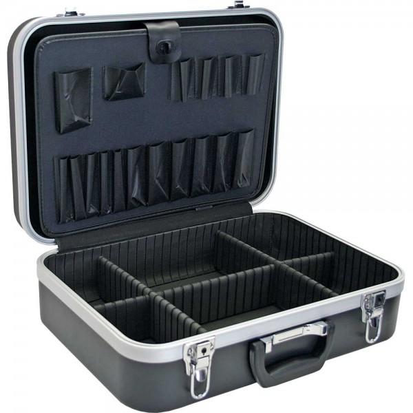 InLine® Werkzeugkoffer, ABS schwarz, unbestückt, abschließbar