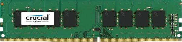 Crucial DIMM 16GB, DDR4-2400, CL17 (CT16G4DFD824A)
