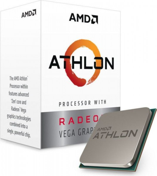 AMD Athlon 220GE Box AM4 (3,4GHz) YD220GC6FBBOX