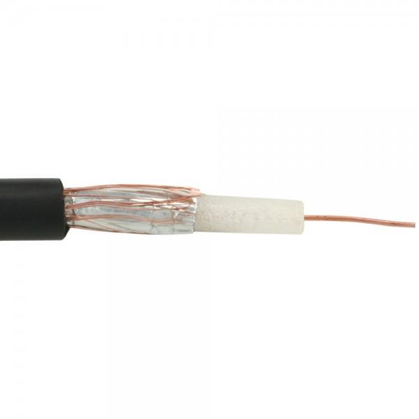 InLine® Koaxial Videokabel RG59, 100m Rolle, für BNC Videokabel