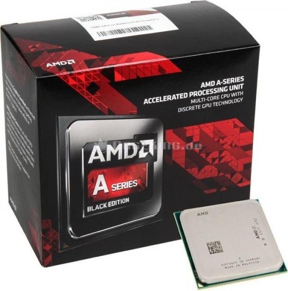 AMD A10 X4 7860K Box FM2+ (3,600GHz)