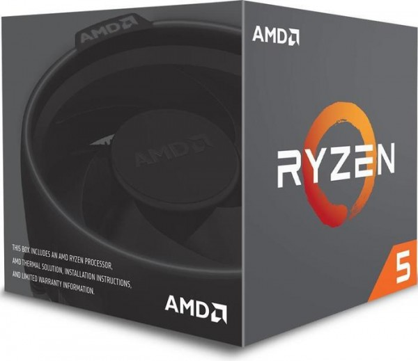 AMD Ryzen 5 1600 Box AM4 (3,200GHz) YD1600BBAEBOX