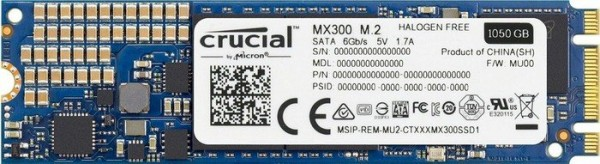 Crucial MX300 1TB, M.2 (CT1050MX300SSD4)