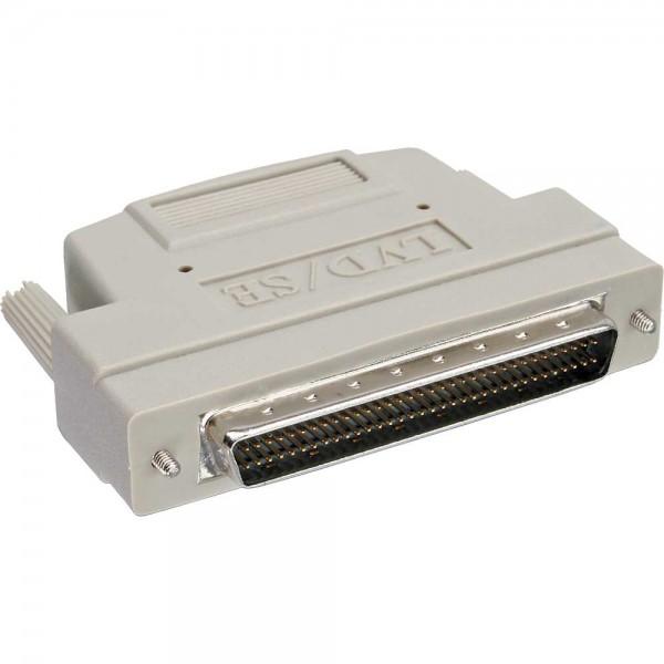 InLine® SCSI U320 Terminator extern, LVD/SE, 68pol mini Sub D Stecker, Schraubversion