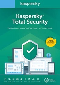 Kaspersky Lab Total Security 2020, 3 User, 1 Jahr, ESD (deutsch) (Multi-Device) (KL1949G5CFS-20-ESD)