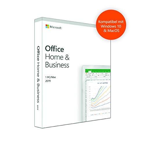 Microsoft Office 2019 Home and Business, PKC (deutsch) (PC/MAC) (T5D-03210)