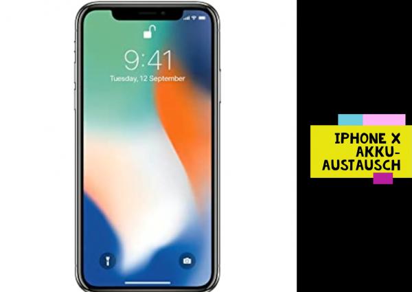 iPhone X Akku-Austausch
