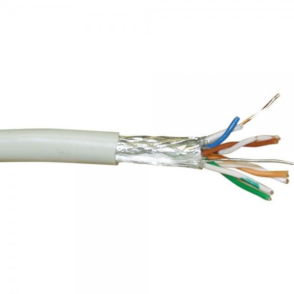 InLine® Verlegekabel, SF/UTP, Cat.5e, AWG24 CU, halogenfrei, 100m