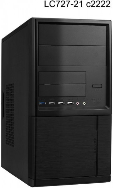 Komplettsystem Intel Core i3-8100, 8GB RAM, 120GB SSD, Windows 10 home