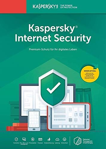 Kaspersky Lab Internet Security 2020, 1 User, 1 Jahr, ESD (deutsch) (Multi-Device)