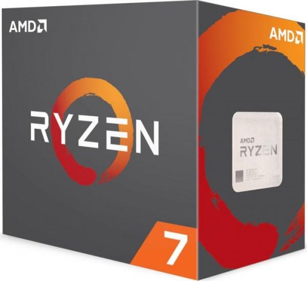 AMD Ryzen 7 1800X Box AM4 (3,600GHz) YD180XBCAEWOF, ohne Kühler