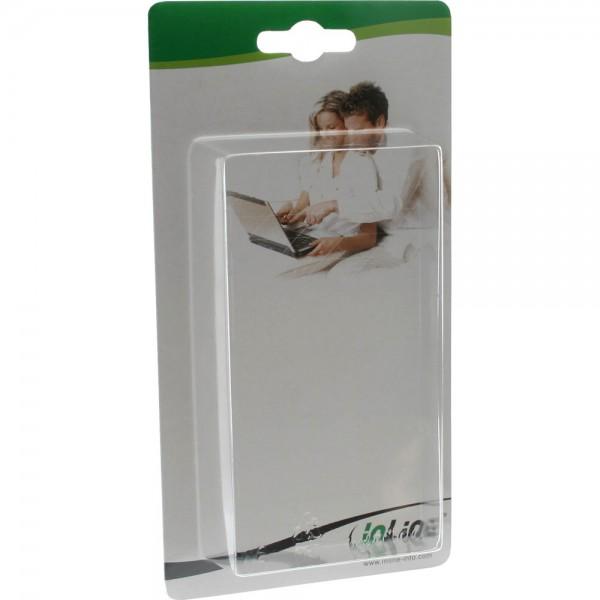 InLine® Blister #4: außen: 15.5 x 9 cm, innen: 10 x 6 x 2.5 cm