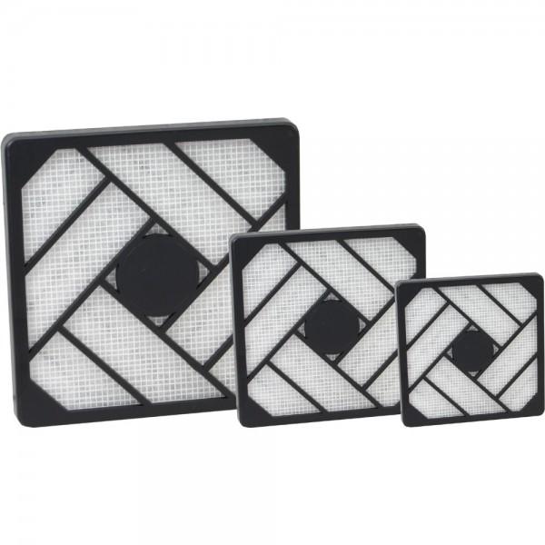 InLine® Filter + Einbaukassette, 80x80mm
