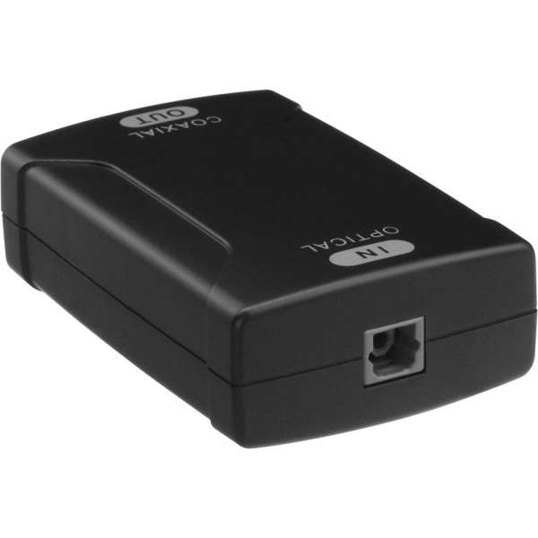 InLine® Toslink Audio Konverter, Eingang Toslink optisch, Ausgang Cinch, S/PDIF