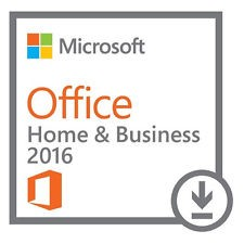 Microsoft: Office 2016 Home and Business, ESD (deutsch)